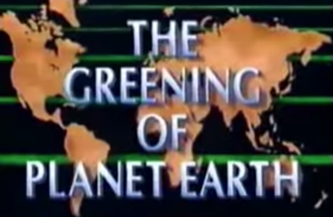Western Fuels Association, The Greening of Planet Earth, Climate Change,